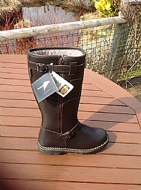 Blackislander Siberia Ladies Leather  Boots