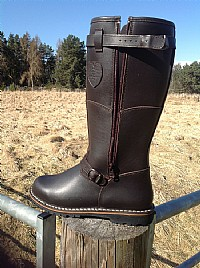 Blackislander Siberia Mens Leather  Boots